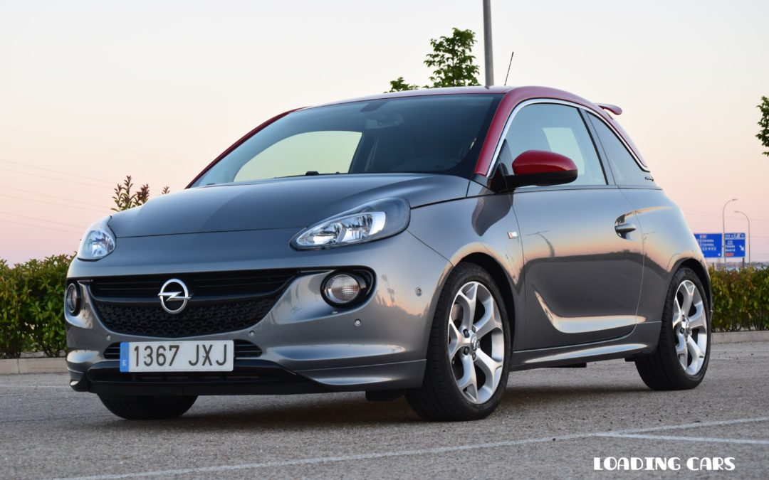 opel adam s el peque o opc de opel loading cars. Black Bedroom Furniture Sets. Home Design Ideas