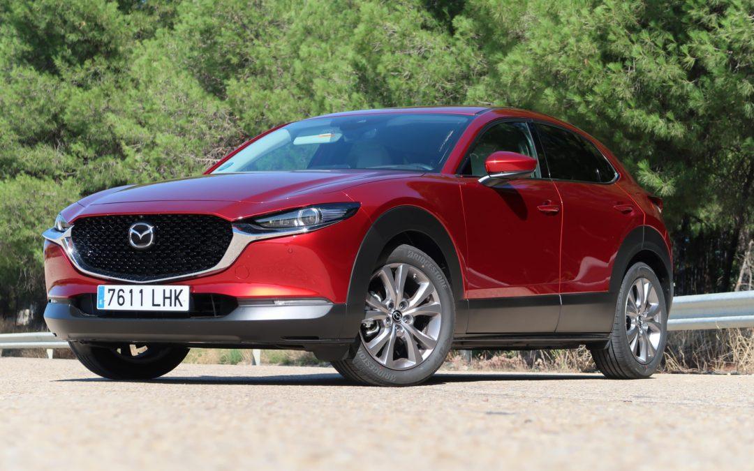 Probamos el Mazda CX-30 con el nuevo motor de gasolina Skyactiv-X