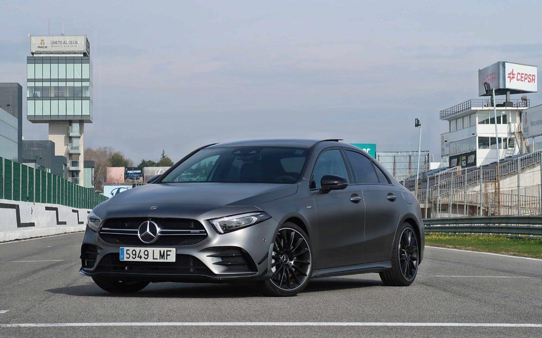 Mercedes AMG A35 Sedán: potencia y diversión en un sedán premium