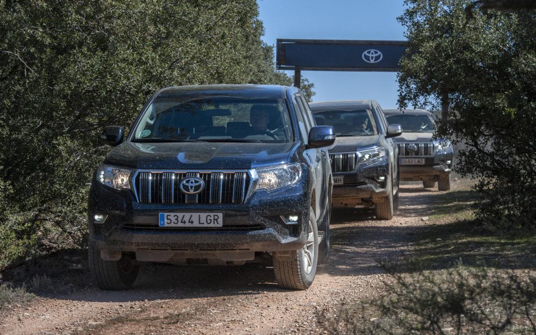 Probamos toda la gama 4×4 de Toyota en su hábitat natural