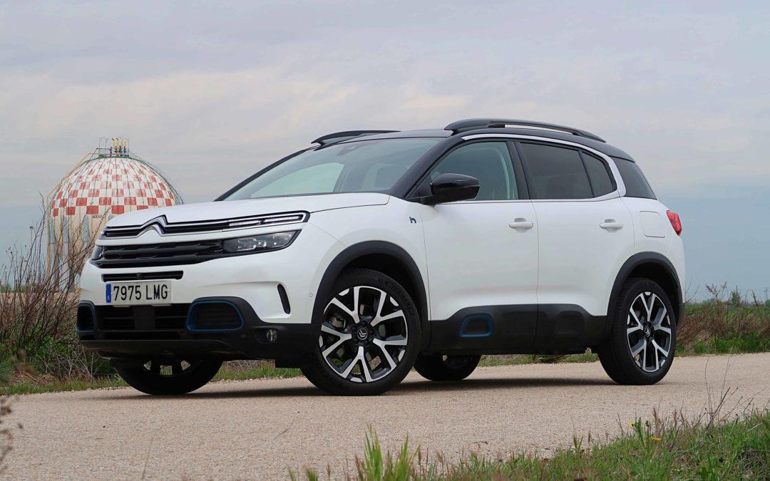 Citroën C5 Aircross Hybrid: el SUV enchufable con las mejores suspensiones